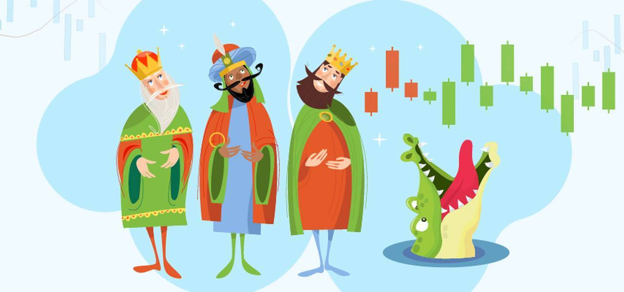 Strategi perdagangan: Three Wise Men dan The Alligator